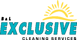 B&L Exclusive Cleaning Services Logo